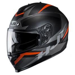 HJC C70 Troky - Zwart / Oranje