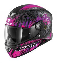 Shark Skwal 2.2 Switch Rider 2 / Zwart / Violet Integraalhelm