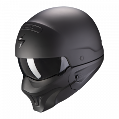 Scorpion EXO-Combat Evo Solid - Mat Zwart