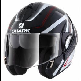 Shark Evoline 3 Hyrium - Zwart / Wit / Rood