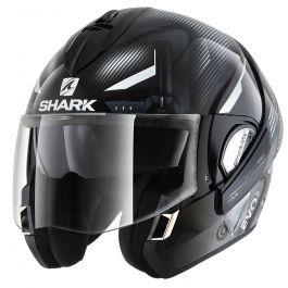 Shark Evoline 3 Shazer - Zwart / Wit