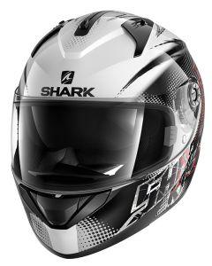 Shark Ridill FINKS - Wit / Zwart / Rood 1
